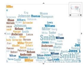 damn arbor mapping michigan s last names