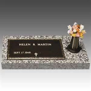 grave markers veteran bronze grave marker side vase