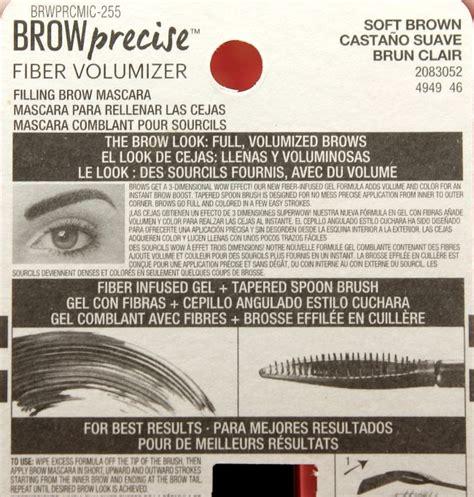 Maybelline Brow Precise Fiber Volumizer maybelline brow precise fiber volumizer myfindsonline