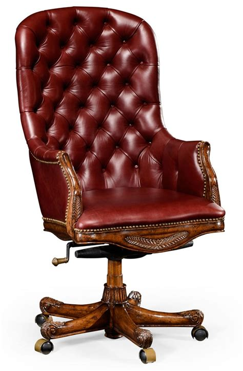 Living Room Desk Chair Living Room Adjustable Leather Desk Chair 98