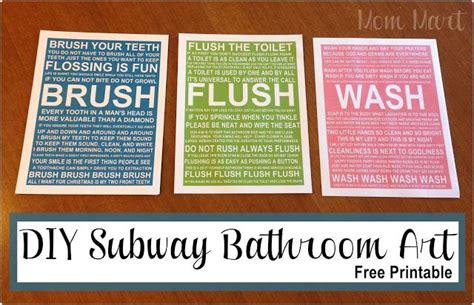 1000 ideas about bathroom subway art on pinterest