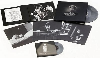 Eraserhead Original Soundtrack Recording Silver Vinyl - eraserhead original soundtrack recording
