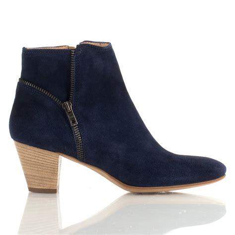 daniel navy quelly women s zip ankle boot