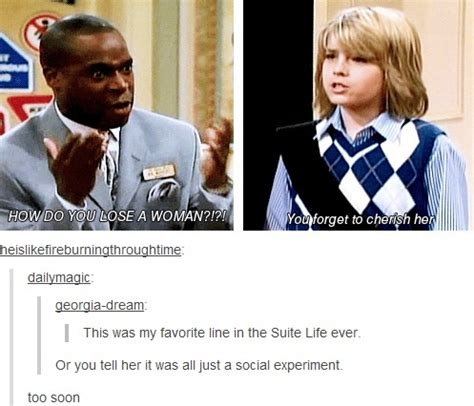 Meme Suite - suite life of zack and cody on losing women ft mr mosby