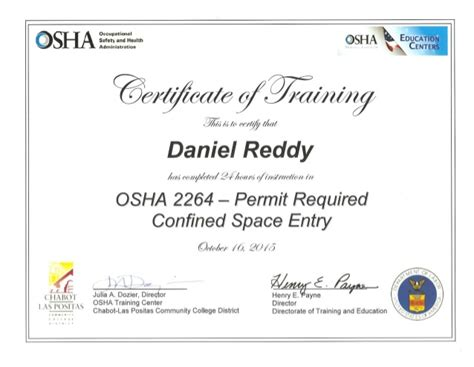 confined space entry permit example pictures to pin on