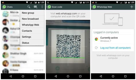 how to use whatsapp web with whatsapp android app whatsapp web desde windows con android whatsapp web online