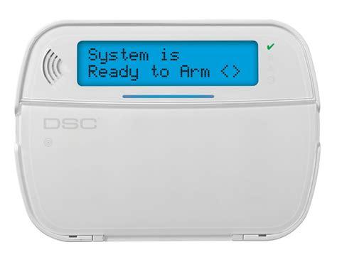 wireless lcd powerg 2 way prox keypad dsc home security