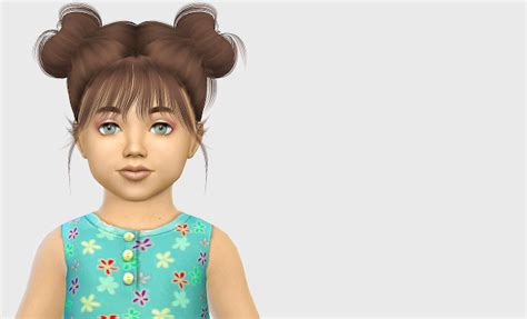 sims 4 cc hair for kids sims 4 cc s the best kids toddlers hair by fabienne