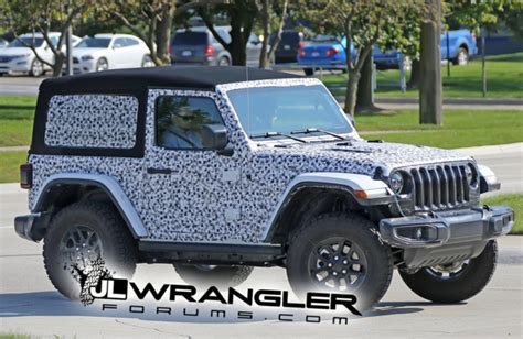 Jeep Wrangler Rumors Rumor Mill 2018 Jeep Wrangler And Wrangler Unlimited