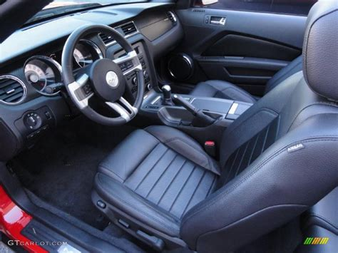 2011 Mustang Gt Interior by Charcoal Black Interior 2011 Ford Mustang Gt Cs California