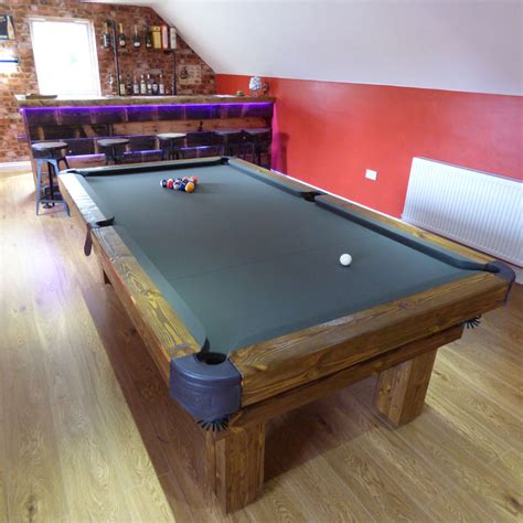 pool table lighting options rustic pool or snooker table luxury pool tables