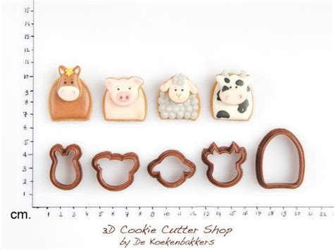 Cutter Animal Mix Isi 5 Pcs 17 best images about cookie cutters on