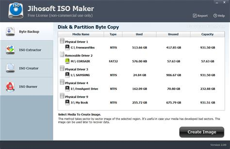 iso file maker full version jihosoft iso maker free 2 0 screenshot freeware files com