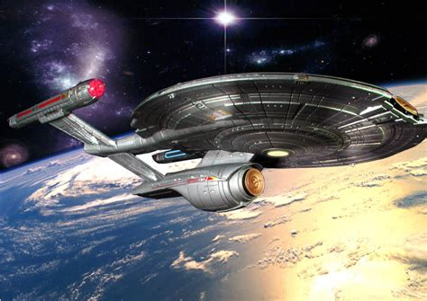 starship enterprise model with lights image gallery nx 01 refit
