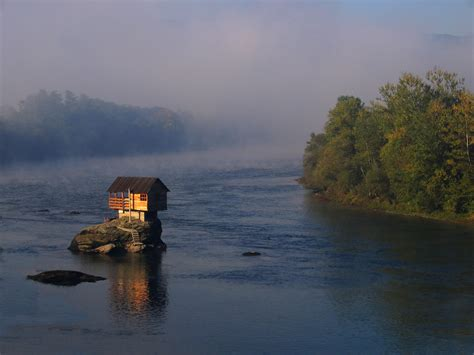 isolated house picture of the day little house on the water 171 twistedsifter