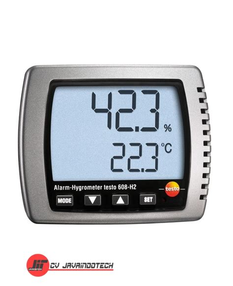 Jual Hygrometer Thermometer harga jual testo 608 hygrometer cv javaindotech