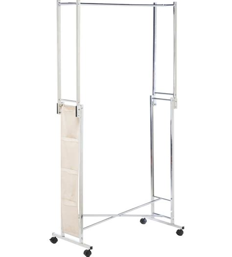Foldable Garment Rack by Folding Garment Rack In Clothing Racks And Wardrobes