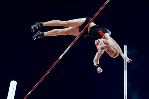 the pole vault chionship of the entire universe books barber trying to keep victory in perspective