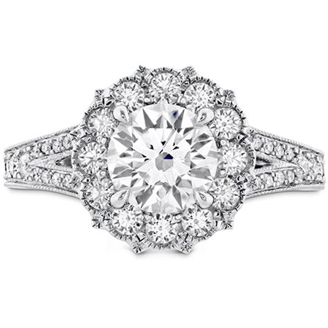 Dia Engagement Rings by Liliana Halo Engagement Ring Dia Band
