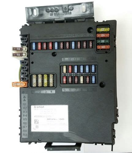 smart fortwo fuse box location 28 images smart car