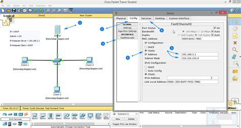 membuat jaringan lan dengan vmware membuat ip dhcp server pada jaringan dengan cisco komunologi