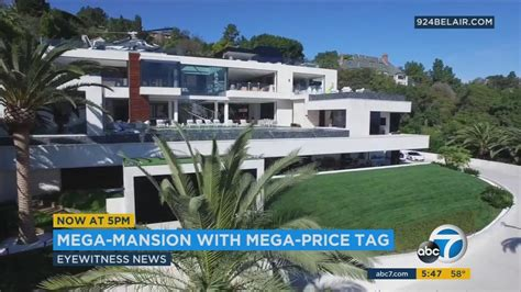 250 million dollar house 250 million bel air mansion most expensive us home for sale abc7 com