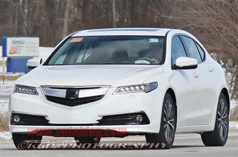 acura tlx in production guise can you spot
