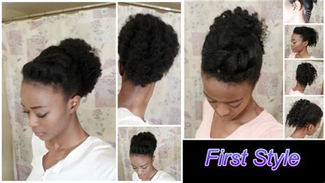 8 Quick Natural Hair Styles for Moms On the Go   BGLH