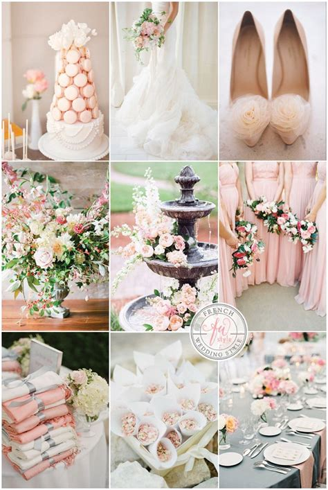 inspired and blush wedding inspiration