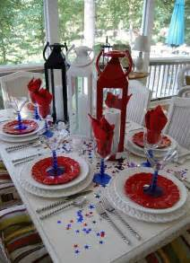 4th of july quot table decorations