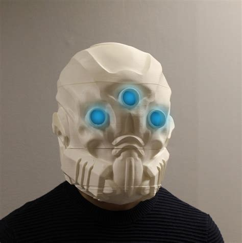How To Make A 3d Mask Out Of Paper - you can now 3d print your own mask of the third