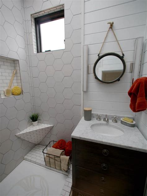 tiny house bathroom design 8 tiny house bathrooms packed with style hgtv s