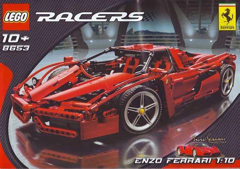 Lego Ferrari Enzo by Lego Enzo Ferrari Instructions 8653 Racers