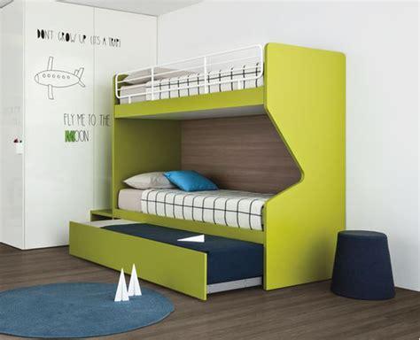 Hton 200 Eurotop Mattress Bunk Bed With Guest Bed Pongo White Eu Single 3 Sleeper