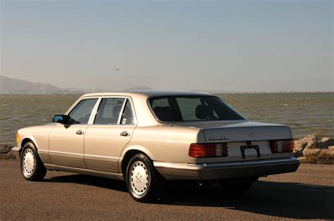 1989 mercedes 560sel with 25 000 german cars