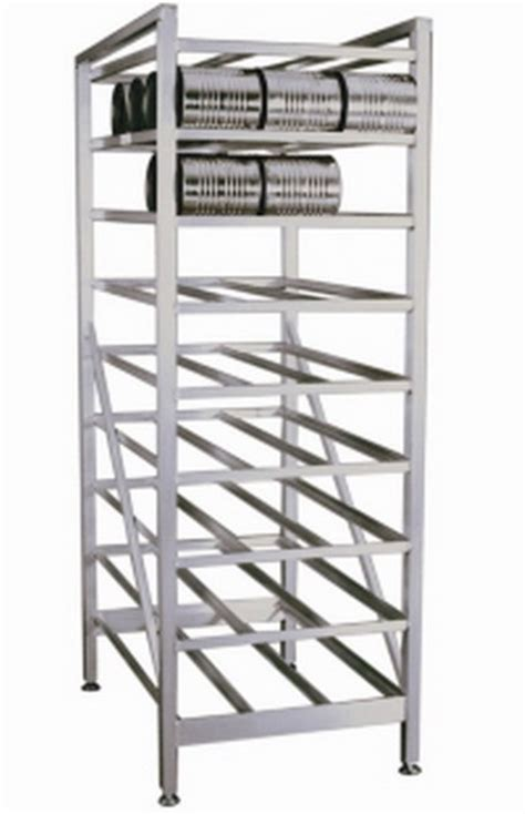 Commercial Kitchen Racks by New Can Storage Rack Industrial Commercial Kitchen