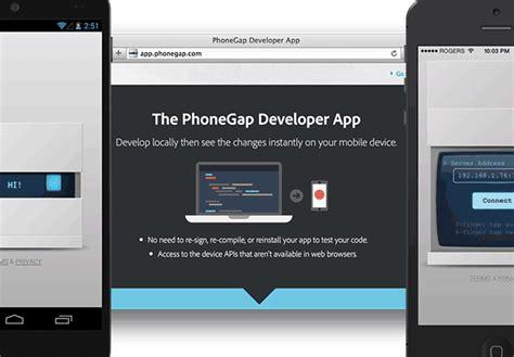 phonegap android tutorial visual studio adobe releases phonegap developer app visual studio
