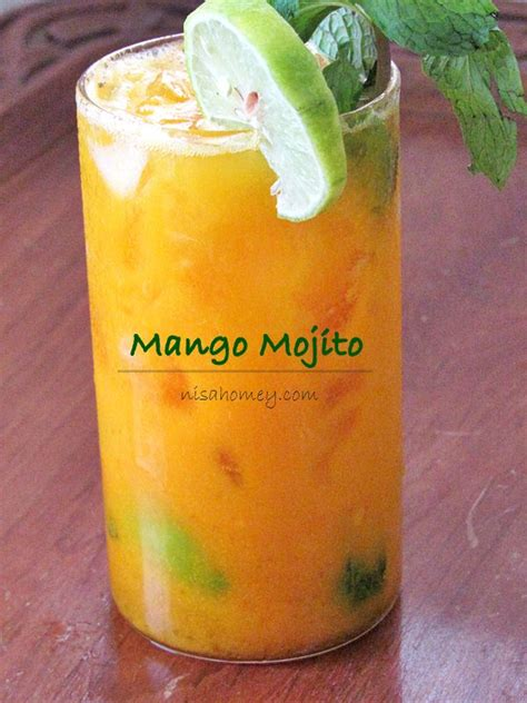Mango Mojito Recipe Mocktail Recipes Cooking Is Easy