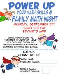family fun night flyer template pictures to pin on