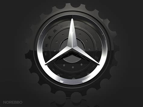 mercedes logo black mercedes benz logo illustrations norebbo