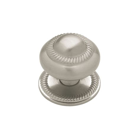 Knob With Backplate by Liberty 37mm Roped Knob With Backplate The Home Depot Canada