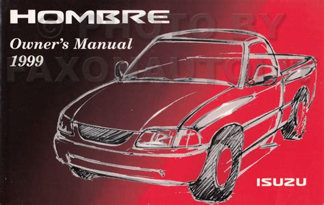 auto repair manual online 1999 isuzu hombre space seat position control service manual 1999 isuzu hombre repair manual service manual how to remove 1999 isuzu
