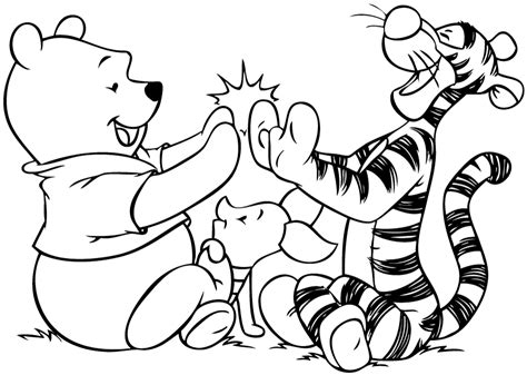 free winnie the pooh coloring pages coloring home