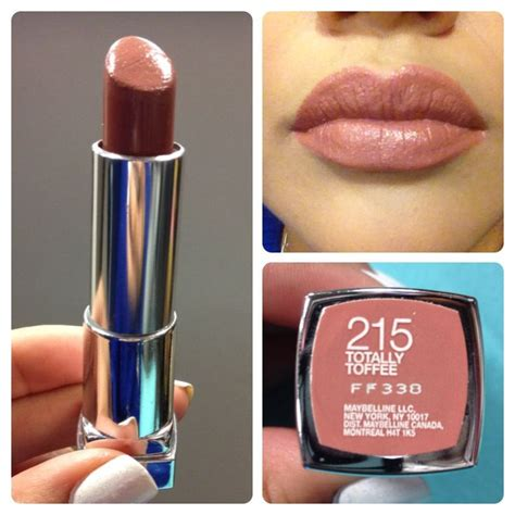 Maybelline Lipstick Toffe totally toffee maybelline search toffee maybelline and