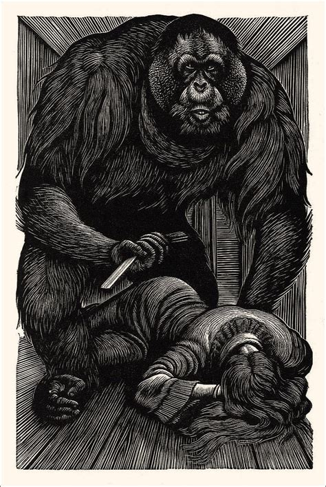 The Murders In The Rue Morgue poe illustration murders in the rue morgue fritz