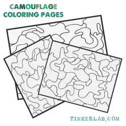 coloring sheets free camouflage coloring pages printable tinkerlab