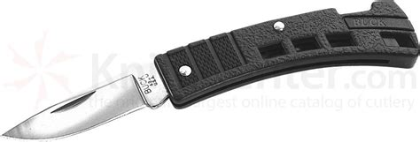 buck 425 minibuck folding knife 1 7 8 quot blade black valox