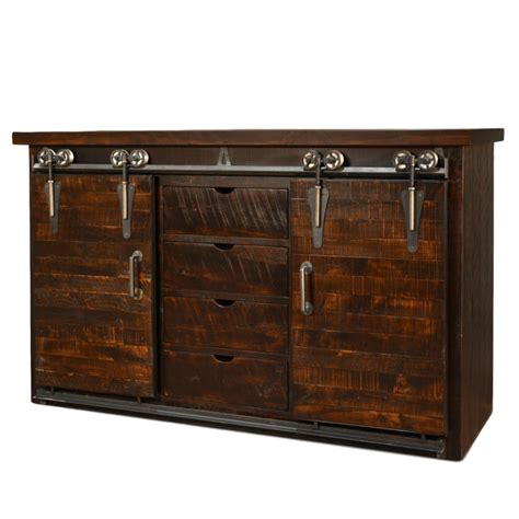 barn door storage cabinet dalton barn door sideboard home envy furnishings solid