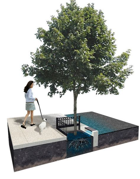 rubber st tree how does it work green stormwater infrastructure