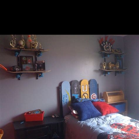 skateboard theme bedroom ross s room pinterest